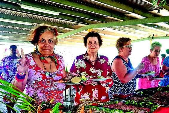 Les anciens de La Foa fêtent la fin de l'année à la Ouenghi