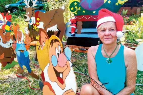 Au Vallon-Dore, la maison d'Anne-Marie se transforme en village de Noël