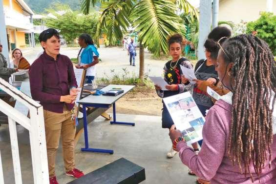 Le lycée Antoine-Kela se présente aux collégiens
