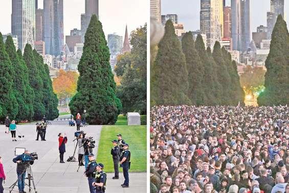 Australie et Nouvelle-Zélande fêtent l'Anzac Day dans le confinement