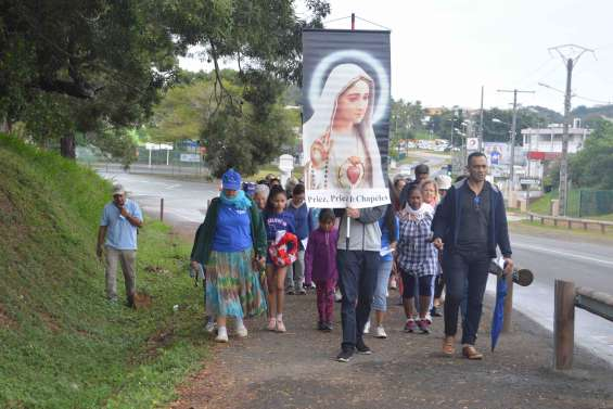 Des milliers de pèlerins convergent sur La Conception