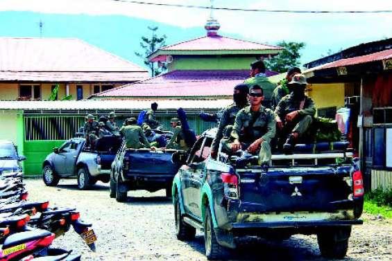 L'armée déployée après le massacre d'ouvriers