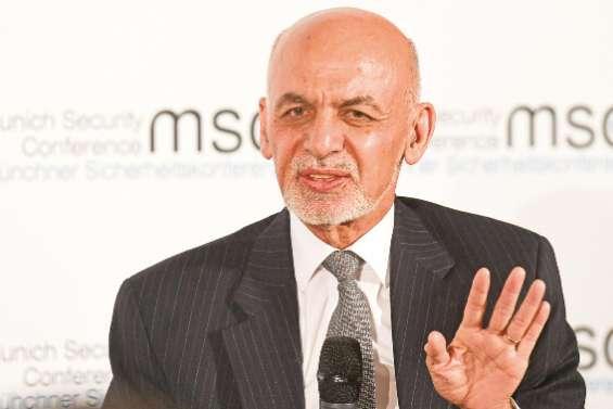Le président afghan espère un accord talibans-USA dans les dix jours
