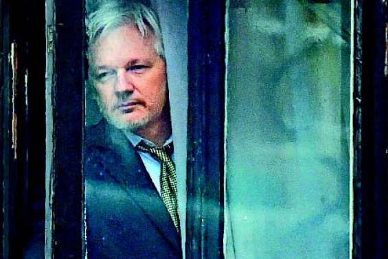 Assange voudrait quitter l'ambassade d'Equateur à Londres