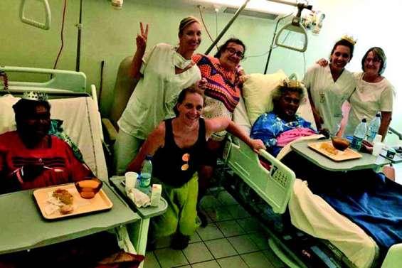 L'association L'hôpital du coeur a égayé l'Epiphanie