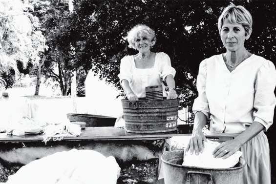 Atup et le Marché alternatif donnent vie aux femmes d'antan à la Villa-Musée