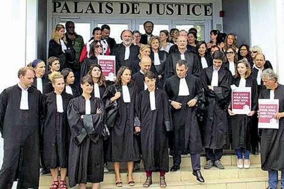 Les avocats se mobilisent pour « une justice pour tous »