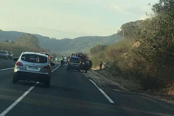 Un accident matériel provoque des ralentissements sur la RT1 au nord de Païta