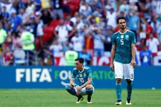 L'Allemagne tenante du titre éliminée, Mexique et Suède qualifiés