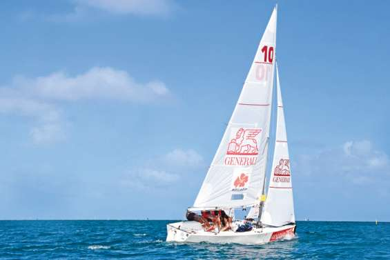 12 bateaux et 5 courses ont animé les championnats