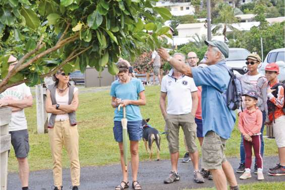 Balade botanique et pédagogique avec Bernard Suprin