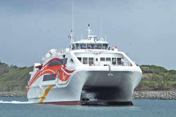 Le Betico obligé de revenir à Nouméa, l'horaire du jour modifié