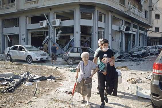 Pour des Libanais déjà brisés par la crise, c'est la catastrophe de trop