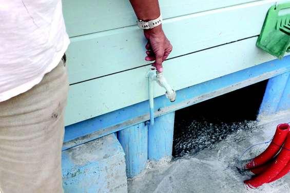 Les habitants de la presqu'île de Boara au régime sec
