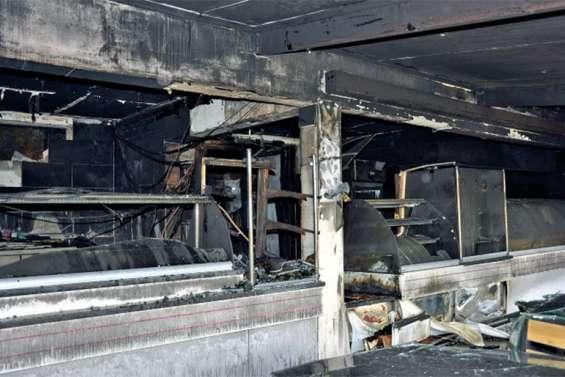 La boulangerie « Au bon pain » entièrement détruite