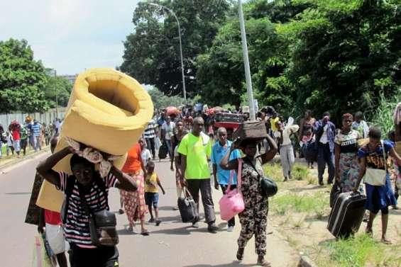 Congo: la population fuit massivement le sud de Brazzaville, théâtre de violences