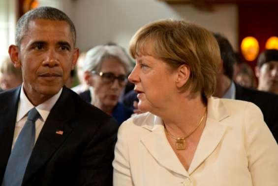 Obama en Allemagne pour rencontrer
