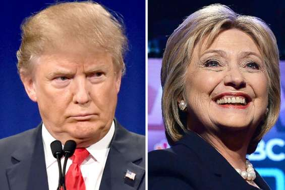 Etats-Unis: Trump et Clinton remportent leurs premières victoires du