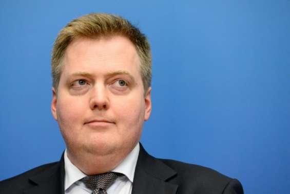 Le Premier ministre islandais dans la tourmente des