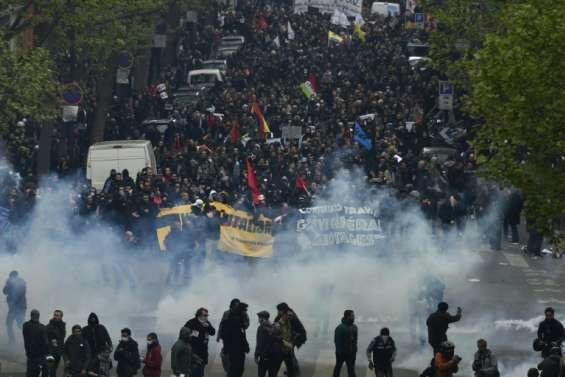 60.000 manifestants à Paris contre la loi travail, selon la CGT