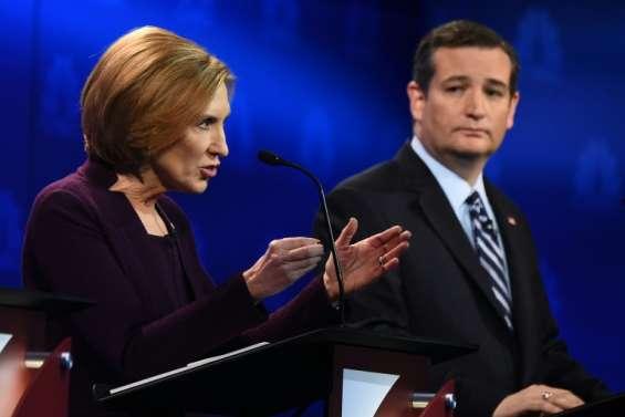 Primaires républicaines: Ted Cruz choisit Carly Fiorina en colistière