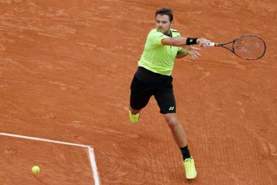 Roland-Garros: Stan Wawrinka qualifié pour les demi-finales