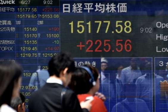Brexit: retour à un calme précaire sur les marchés en Asie
