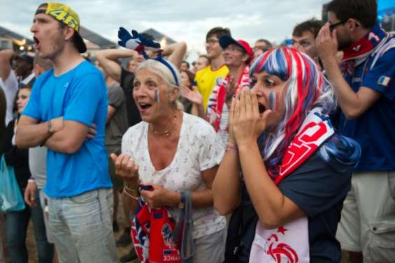 Euro: des supporters