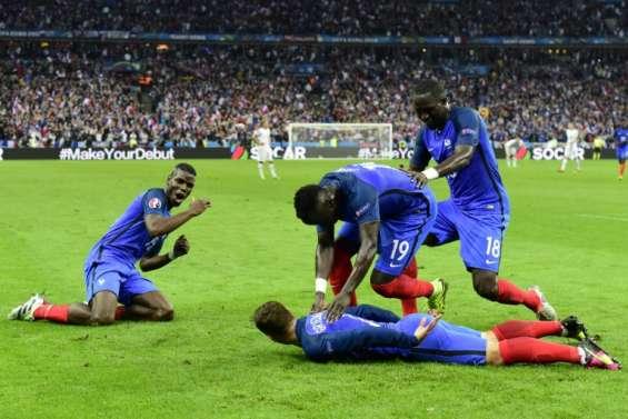 Euro-2016: record d'audience de 17 millions de télespectateurs sur M6 pour France-Islande
