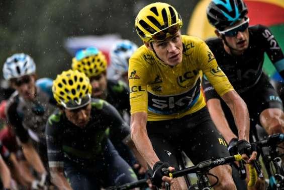 Tour de France: Champs-Elysées en vue pour la course emmenée par Froome
