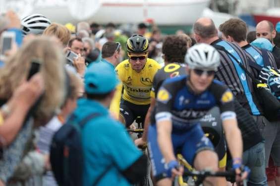 Tour de France: départ de la 3e étape entre Granville et Angers