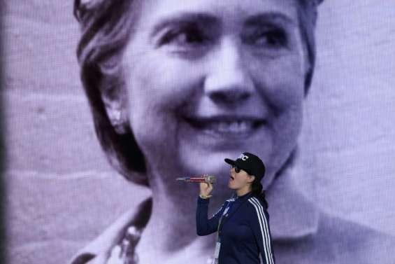Hillary Clinton reprend le flambeau démocrate