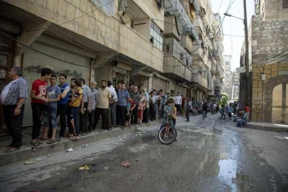 Syrie: les habitants d'Alep assiégée craignent la famine