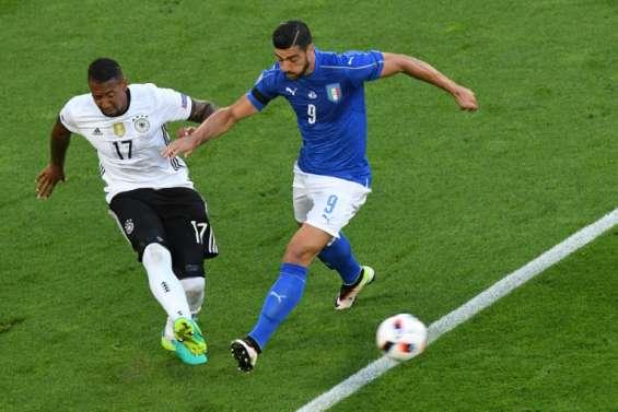 Euro-2016: défense à 3 pour l'Allemagne, Italie sans De Rossi