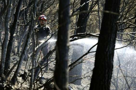 Incendie à Correns: 630 hectares brûlés, la lutte continue