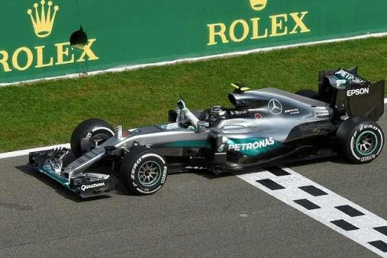 GP de Belgique: victoire de Rosberg (Mercedes), Hamilton 3e