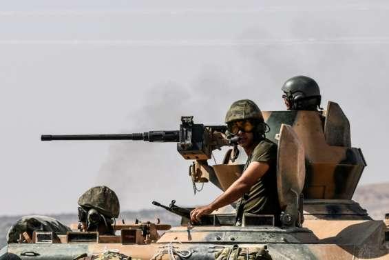 Syrie: la Turquie cible les milices kurdes au 4e jour de son offensive