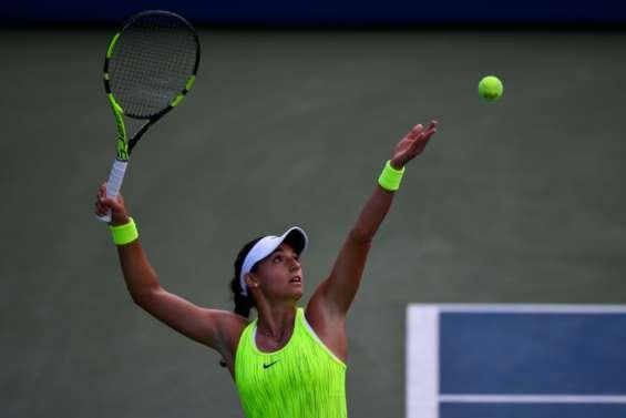 US Open: Caroline Garcia poursuit difficilement sa route