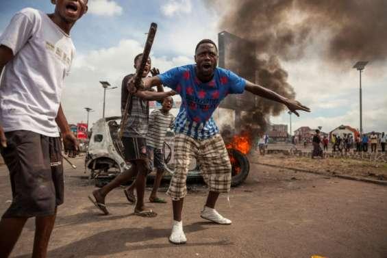RDC: 2 corps carbonisés dans l'incendie du siège parti d'opposition à Kinshasa