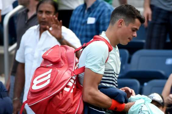 US Open: Raonic et Muguruza craquent, les Français au rendez-vous