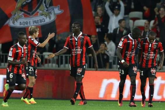 Ligue 1: Nice frappe un grand coup contre Monaco, doublé pour Fekir