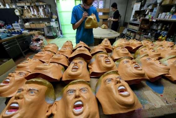 La victoire de Trump fait le bonheur... d'un fabricant de masques au Japon