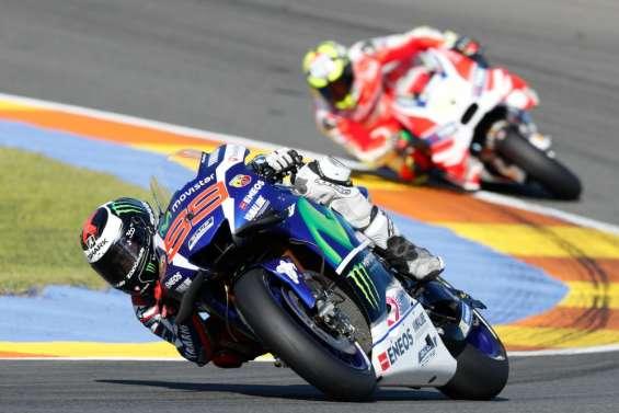 MotoGP: victoire de Jorge Lorenzo (Yamaha) au GP de Valence