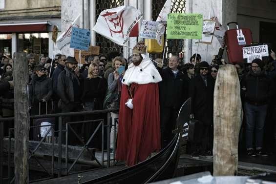 Venise: manifestation contre l'exode des habitants