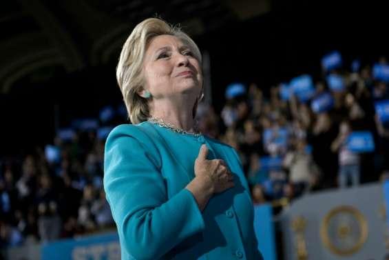 Maison Blanche: dernier sprint pour la candidate HillaryClinton