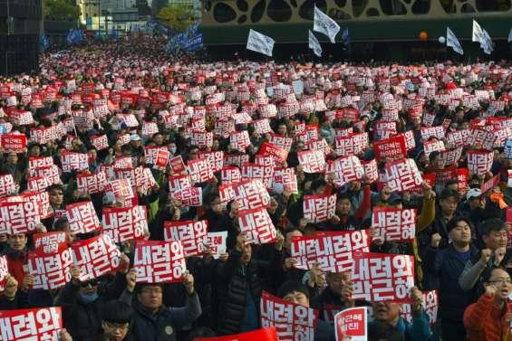 Corée du Sud: manifestation pour la démission de la présidente