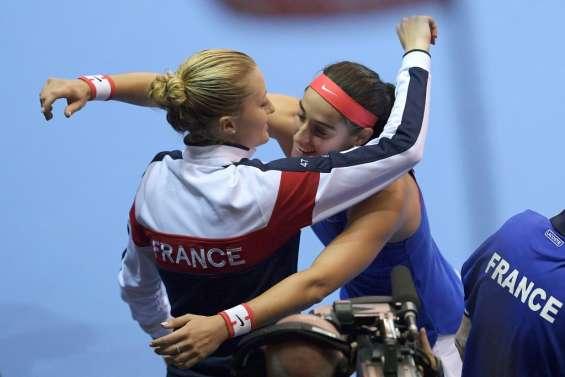 Fed Cup: les Françaises peuvent y croire