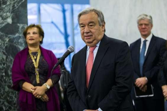 ONU: le nouveau patron présente sa doctrine au Conseil de sécurité