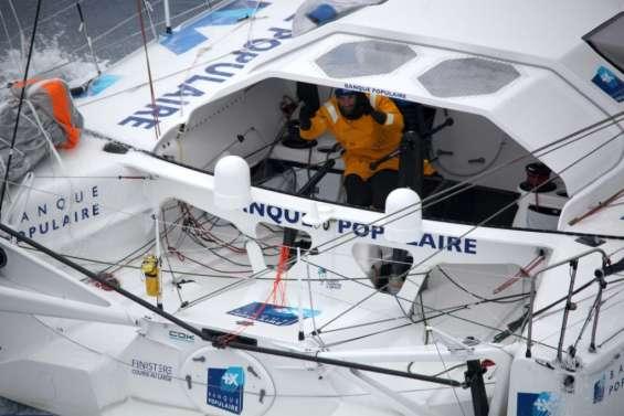 Vendée Globe: avantage Le Cléac'h à quelques heures de l'arrivée