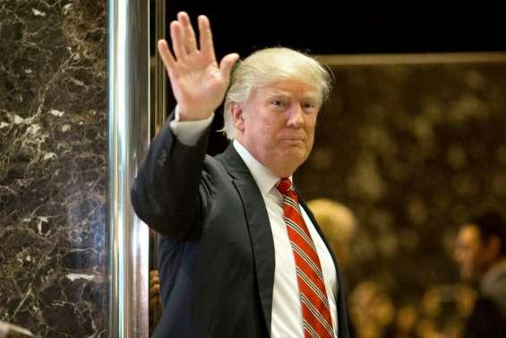 J-1: Donald Trump s'installe à Washington